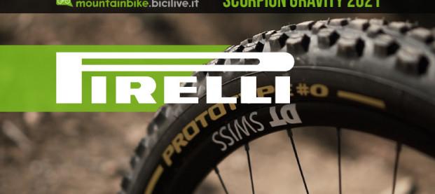 Gli pneumatici Pirelli Scorpion per il mondo gravity