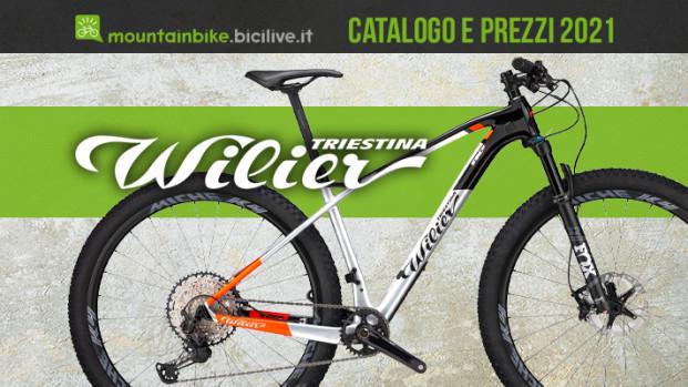 Tutte le mountain bike Wilier Triestina 2021: catalogo e listino prezzi