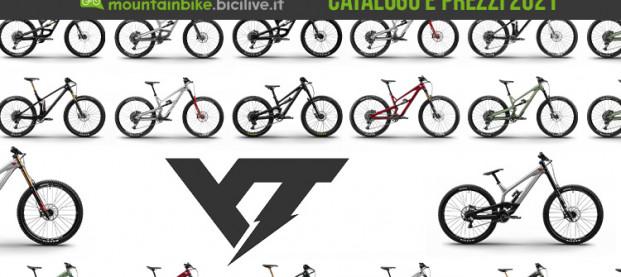 Il catalogo 2021 YT Industries: 18 modelli MTB per AM, enduro e gravity