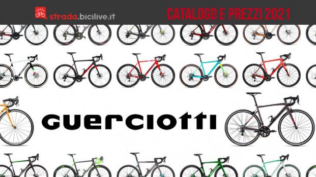 Guerciotti bici da corsa, gravel e ciclocross 2021: il catalogo e listino prezzi