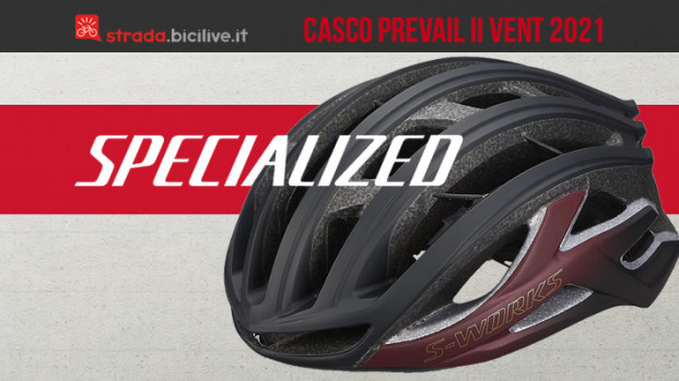 Il nuovo casco strada Specialized S-Works Prevail II Vent