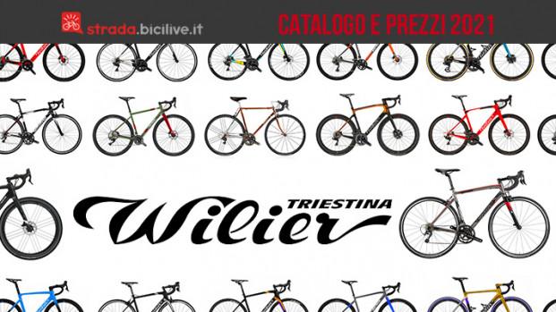 Wilier Triestina: il catalogo e listino prezzi delle bici da corsa e gravel 2021