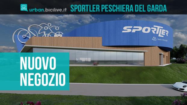 """Sportler e il suo nuovo negozio """"solo bike"""""""