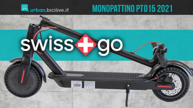 SwissGo PT015: il monopattino urban semplice e leggero