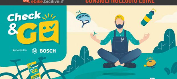 10 consigli per noleggiare un'ebike: Check&Go ePowered by Bosch