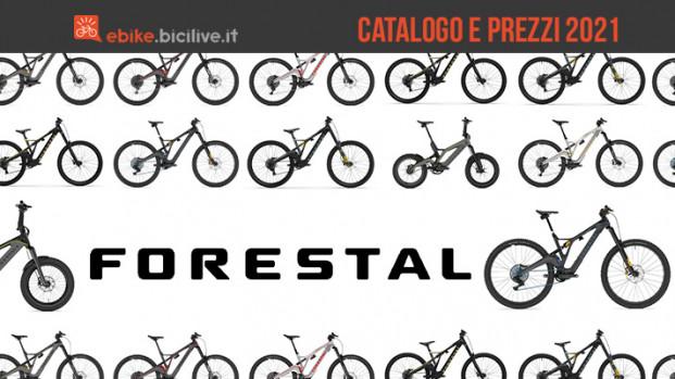 Forestal Bikes: il catalogo delle biciclette elettriche 2021