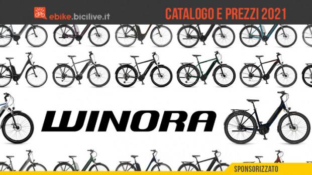 Il catalogo delle e-bike Winora 2021: 19 modelli per città e cicloturismo