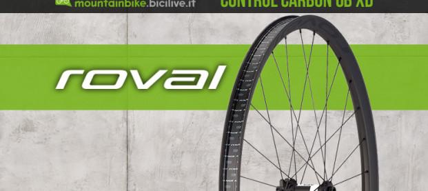 Roval Control Carbon 6B XD: ruote leggere per l'XC