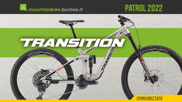 Transition Patrol 2022: mullet aggressiva in alluminio