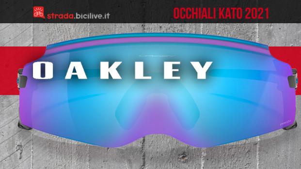 Gli occhiali da sole per ciclisti Oakley Kato