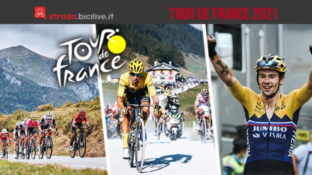 Tour de France 2021: l'edizione 108 dal 26 giugno al 18 luglio