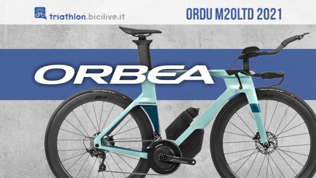 Orbea Ordu M20LTD, nuova bici triathlon leggera e aerodinamica