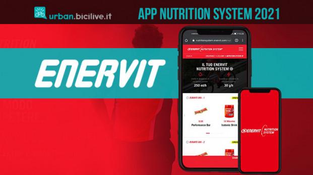 Nutrition System: l'App di Enervit per tutti gli sportivi