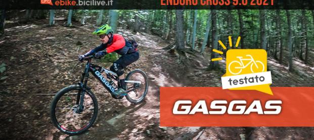 Il test della eMTB GASGAS Enduro Cross 9.0 2021