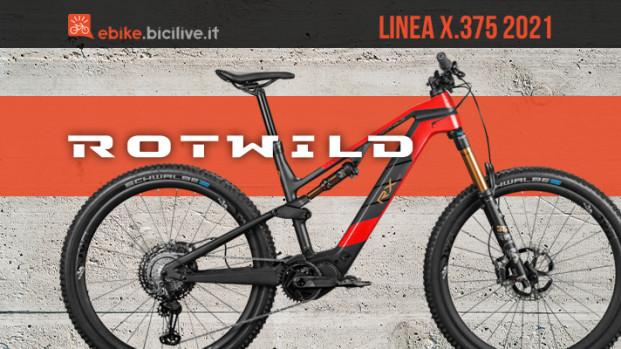 Rotwild X.375: una eMTB leggera con Shimano EP8
