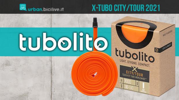 Tubolito X-Tubo City/Tour: la camera d'aria robusta per biciclette