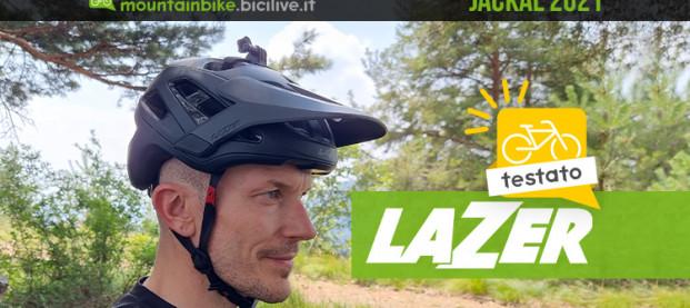 Il test del casco Lazer Jackal 2021