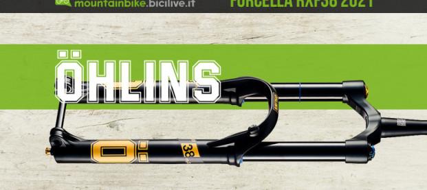 Nuova forcella Ohlins RXF38 m.2: dalla Svezia con passione