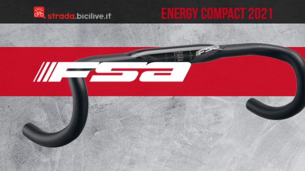 FSA Energy Compact: manubrio confortevole e leggero