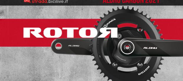 Rotor Aldhu Carbon: componentistica di livello per le vittorie al Giro d'Italia 2021