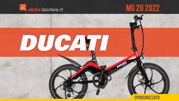 Ducati MG-20: un'ebike pieghevole italiana in magnesio