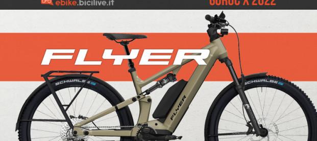 Flyer Goroc X 2022: full suspended per cicloturismo e avventura