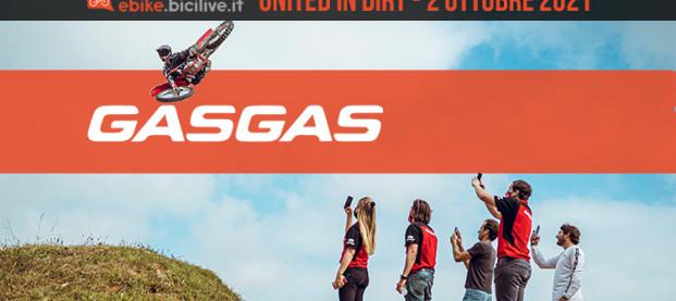 """GasGas """"United in Dirt"""" sbarca in Italia"""