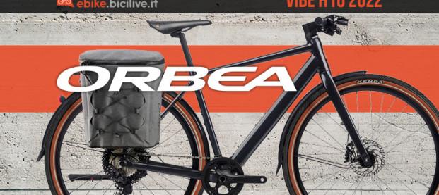 Nuova Orbea Vibe H10 2022: ebike in città con eleganza e stile