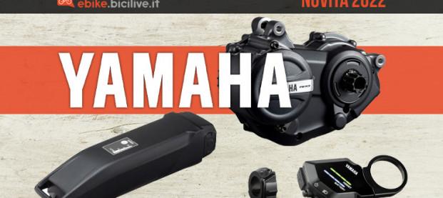 Novità Yamaha 2022: motore PW-X3, batteria Crossover 400 e Yamaha Interface X