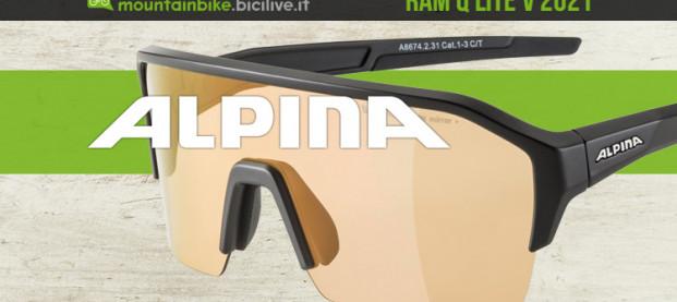 Alpina RAM Q Lite V: gli occhiali da enduro