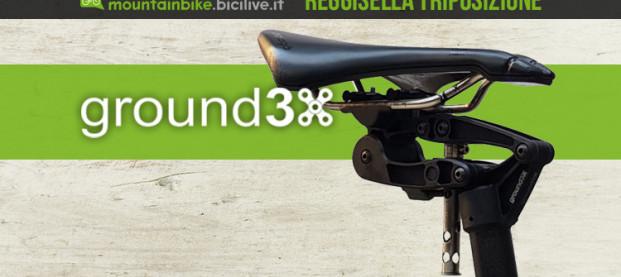Ground3X, l'innovativo reggisella italiano con 3 posizioni