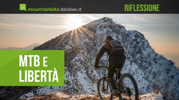 La mountain bike e la libertà