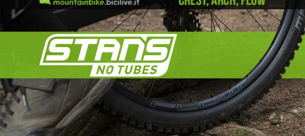 I nuovi cerchi per MTB Stan's No Tubes Crest, Arch e Flow MK4 e S2
