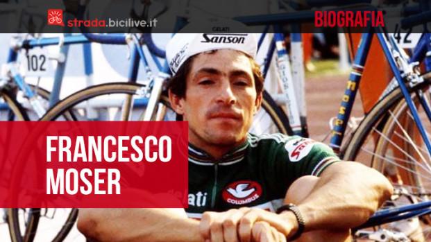 Francesco Moser: la storia dell'uomo dell'Ora