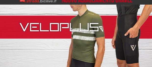 Veloplus, i nuovi capi d'abbigliamento appositamente pensati per il gravel