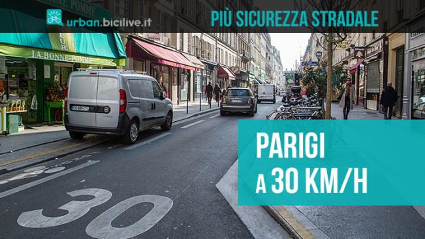 Chi l'avrebbe detto? Parigi a 30km/h piace ai cittadini