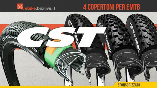"""I """"Fantastici 4″ per eMTB di CST Tires"""