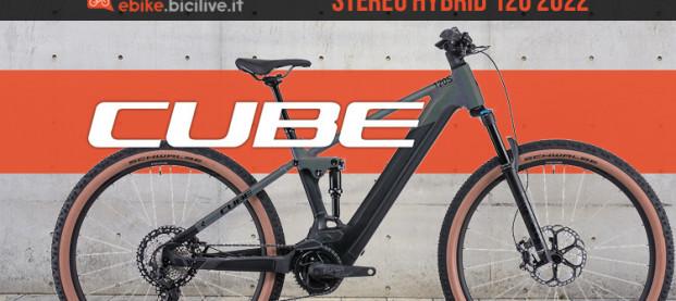 Cube Stereo Hybrid 120 2022: 5 allestimenti elettrici versatili