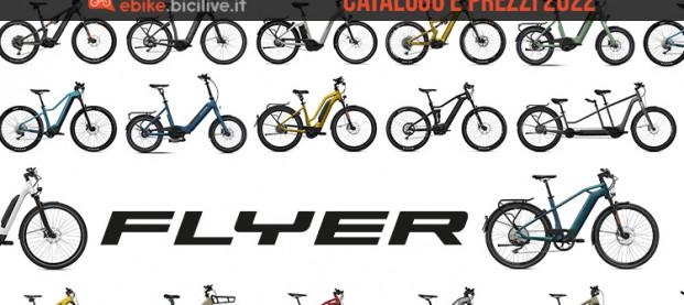 Il catalogo e il listino prezzi delle ebike Flyer 2022