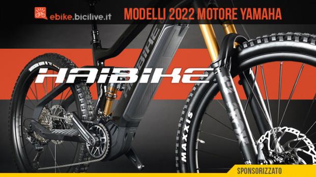 Haibike: otto nuove e-MTB 2022 con motore Yamaha PW X3