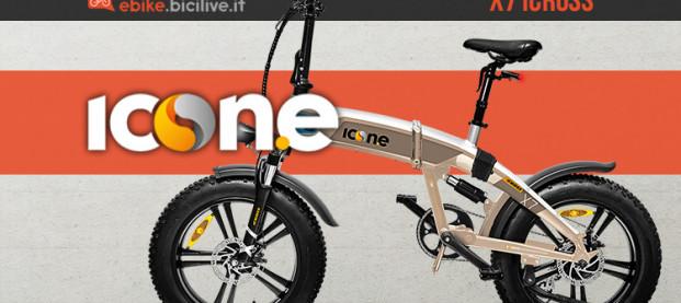 Icon.e x7 iCross: la eFold full suspended con ruote fat