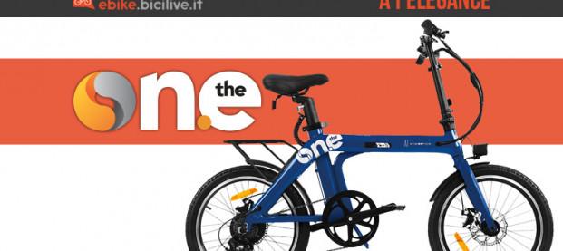 La nuova bici elettrica pieghevole The One A1 Elegance