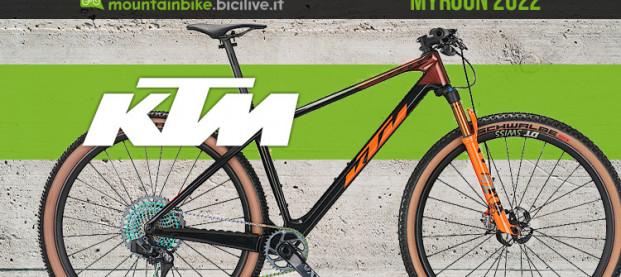 La nuova KTM Myroon 2022: 6 allestimenti per le competizioni di XC