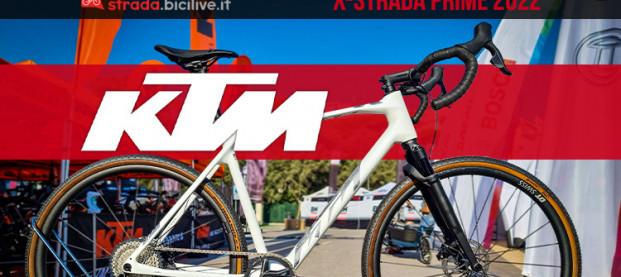 KTM X-Strada Prime 2022: la gravel top di gamma dell'azienda austriaca