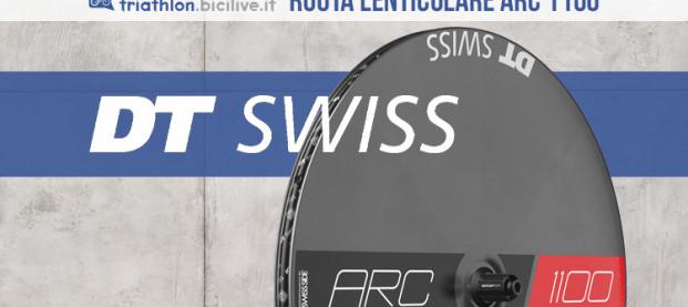 La ruota lenticolare DT Swiss ARC 1100 Dicut Disc
