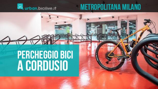 Milano, la metro di Cordusio apre il primo parcheggio per biciclette al chiuso