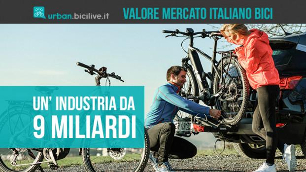 Il valore dell'industria italiana delle bici? 9 miliardi di euro